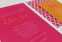Noteworthy Bar and Bat Mitzvah Invitations / Bar and Bat Mitzvah invitations we have created that we love and want to share.