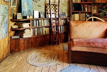 stairways and bookcases.