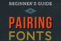 Graphic Design & Fonts / Fonts, fonts, baby! / by Maren Michelle