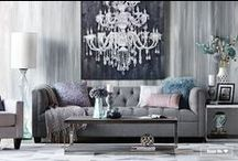 Living Room / Create a dream living room, you won't want to leave. Urban Barn has seating, tables, storage, décor, and custom furniture pieces that will make you want to stay home. / by Urban Barn