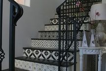 Fireplaces, Entries, Steps and Stairs - Tile