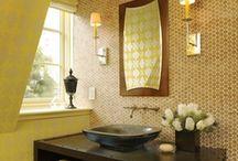 Baths - powder room tile (jewel boxes)