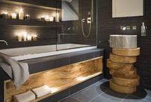 Baths - modern tile