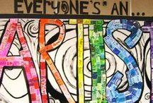 Artsy School stuff / Stuff that relates to art curriculum  / by Kathy Kilday