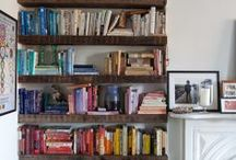 Decorating with Books Ideas / How to incorporate books in the home.