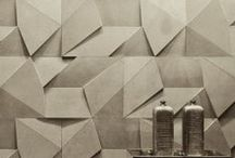 Wall Treatment Ideas / Wallpaper and textured walls for your home.