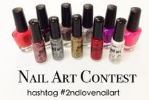 2nd Love Vday Nail Art Instagram Contest  / February 2014 - 2nd Love wants to see YOUR best Valentine's Day inspired nail art! Check out the entries :)