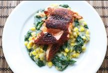 Recetas con pescado y mariscos / Todo tipo de recetas con pescados y mariscos.