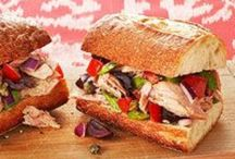 Sandwich Heaven / Different types of sandwiches. / by Kelly Tranum-Kelly