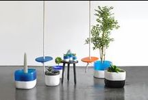 Urban Garden / Our inspiration for Spring 2015! Imagine the fresh scent of blooming flowers The spring green of new plants in pretty pots Swinging from the trees Staring up at the blue sky and happiness and smiling!