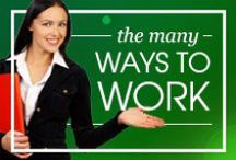 The Many Ways to Work