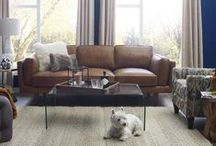 Leather / Leather, it's as luxurious as it sounds. Trust us!   / by Urban Barn