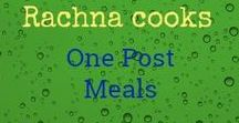 Rachna cooks | One-pot Meals / Find easy to make one-pot meals here that save time but don't skimp on taste. #onepotmeals