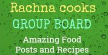 Rachna Cooks GROUP BOARD Amazing Food Posts and Recipes / This is a group board to share some great content around food and easy recipes. To join the board, please follow me on Pinterest and send me an email at rachna.parmar@gmail.com. Do not pin more than 3 pins in a day. For every pin you pin, please repin another pin from here. Every pin must lead to a blog post/article/video. Pins not adhering to this will be deleted. Happy pinning!