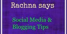 Rachna says -- Social Media and Blogging Tips / This Board is all about social media and blogging tips. #socialmedia #twitter #facebook #instagram #blogging #wordpress #blogger