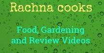 Rachna cooks -- Food, Gardening and Review Videos from my YouTube Channel / This board has pins of the simple video recipes, gardening videos and my product review videos as well as other videos from my YouTube channel.