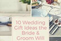 Tying the Knot / Make the happy couple even happier and help them celebrate tying the knot with special engagement and wedding gifts they'll cherish forever. Find wedding gift ideas or wedding registry ideas for the newlyweds-to-be or for your own special day.