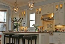 Kitchens + Dining Spaces / by Heather Diggs