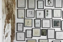 inspiration & gallery walls / by Ginny Branch Stelling