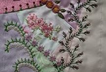 Crafty Ideas for Quilting / Ideas for quilting-crazy quilts / by Dona Deam