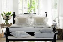 Bedrooms / by Heather Diggs