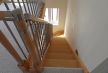 Domestic Staircases / Many of these staircases have been used in our Attic Designs Ltd Loft Conversions / by Attic Designs Loft Conversions