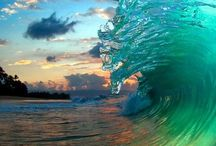 ocean / The ocean in all its different forms.