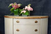 our milk paint projects