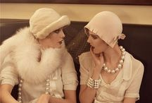 Intertwined with the Twenties / Inspirations for our upcoming vintage fashion show. Hoping this is the idea that finally sticks!