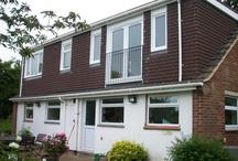 Dormers; flat roof type; by Attic Designs Ltd / by Attic Designs Loft Conversions