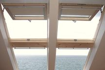 Roof windows; velux & fakro / Various sizes and types of roof windows.  / by Attic Designs Loft Conversions