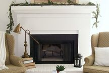 Fireplaces + Mantels / by Heather Diggs