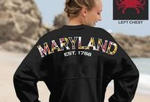 Maryland-Inspired Wardrobe / Clothes and accessories to show your Maryland pride! / by Maryland