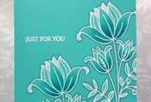 Card Techniques and Tips / Fun techniques used to make cards / by Dona Deam