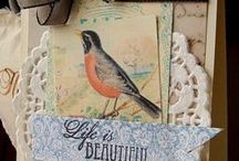Cards & Tags 1 / Some images of cards I like / by Dona Deam