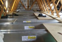 Telebeam installation by Attic Designs Ltd / TeleBeam loft conversion and flooring system has been designed primarily for the retrospective conversion of existing modern roof trusses to provide accommodation in the roof space.  / by Attic Designs Loft Conversions