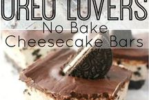 No-Baked Desserts / Leave the oven off and enjoy these delicious no-baked treats!!!