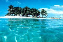island + sandy cay