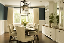 Formal Dining / Ideas for my real and dream dining rooms.  / by Emily Chamberlin