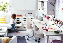 Workspace / one part Art room, one part office / by Ali Ivmark