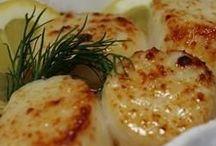 Sassy seafood ... / by Erin-Robyn Porath