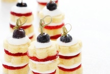 Holiday Parties: Fourth of July / The red, white and blue....