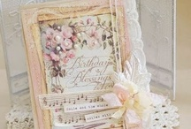 Shabby chic, vintage cards and more...