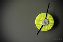 crochet clocks