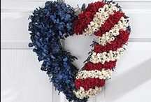 Artisans Celebrate America / red white and blue all over / by Uno Alla Volta