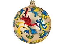 Ornaments, Ornaments, Ornaments / handcrafted from around the world / by Uno Alla Volta