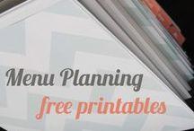 Free Printables: Menu Planner/ Shopping List