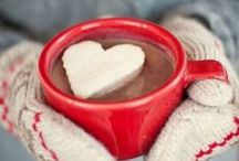 Beverages: Hot Drinks / Something hot in my hands and warm in my belly equals happiness on a cold morning.