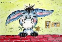 Comic Kinderzimmer-Bilder paintings for kids / painting fpr children Kinderzimmer Bild