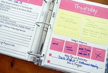 Home Mgt & Check-Lists / by ╰☆ Aly Hughes ☆╮